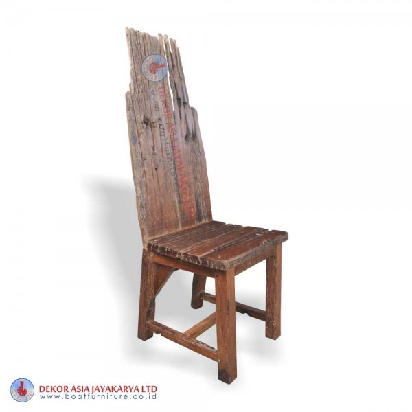 Recycled Railway Dining Chair