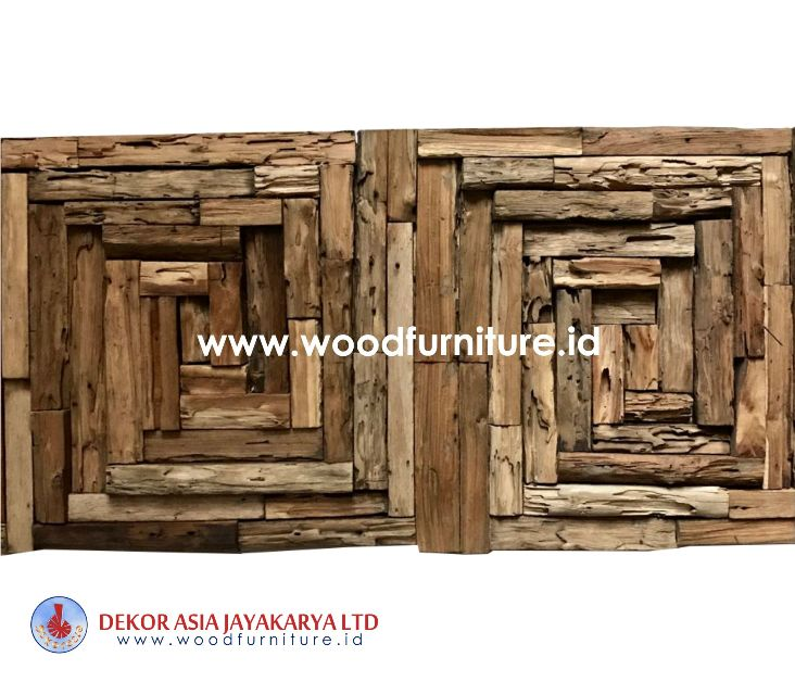 Wood Wall Cladding - Wood Wall Decoration - Wooden Wall Crafts